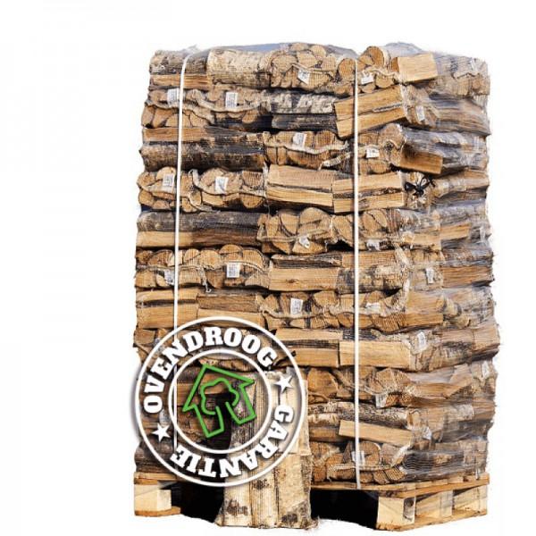Brandhout in netzakken  |  66 zakken van ca. 25 liter/stuk | Schoon en droog | Plan zelf de bezorgdatum