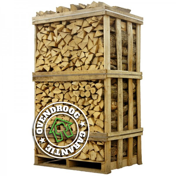 Hele palletten brandhout | Vergelijkbaar 3,25 stère | Thuis geleverd | Schoon en droog
