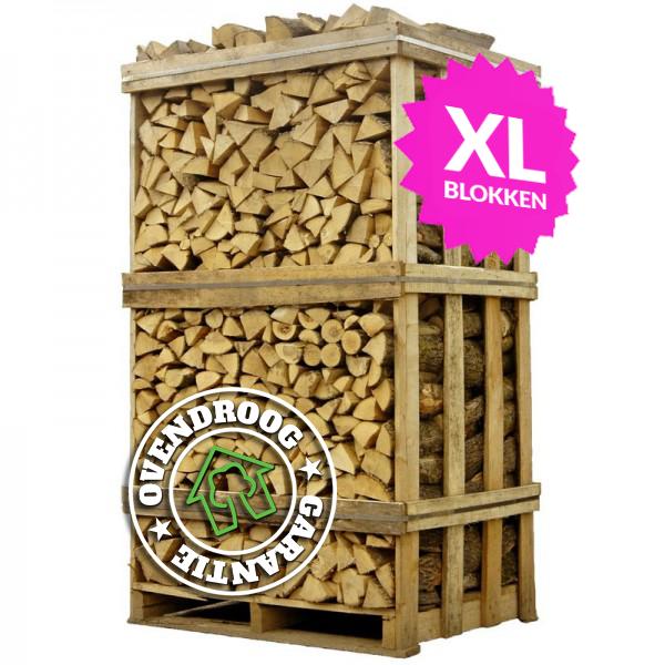 Hele palletten brandhout XL | Vergelijkbaar 3,25 stère | Thuis geleverd | Schoon en droog