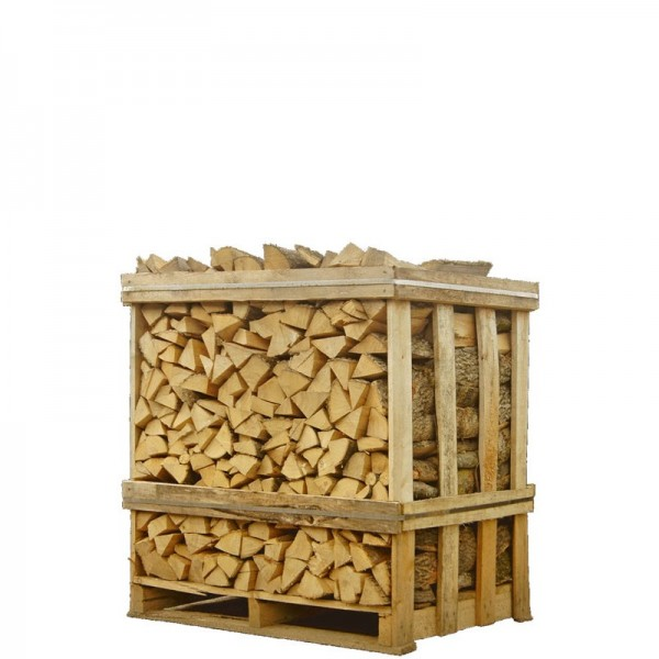 Brandhout berk ovengedroogd halve pallet
