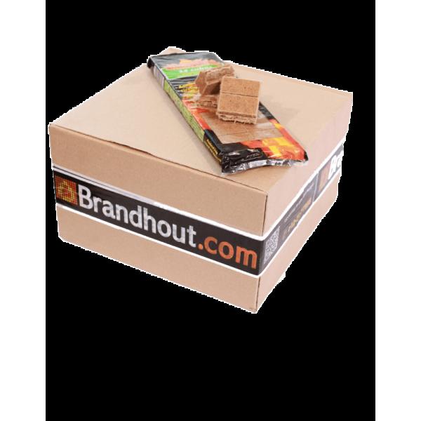 Omdoos Aanmaakblokjes | Bruin | 576 stuks