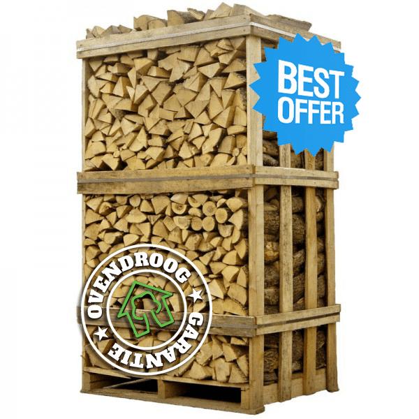 brandhout berk ovengedroogd hele pallet