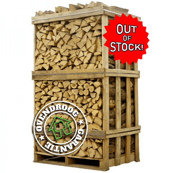 Brandhout berk | Jumbo pallet (ca.120x90x200cm) | ± 3.5 stère