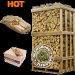 Brandhout els   hot deal (ca.120x80x210cm)   aanmaakhout   aanmaakblokjes